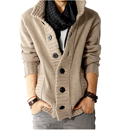 Partiss Mens Cool Sweater at Amazon Men's Clothing store: