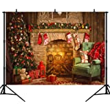 DePhoto 7X5Ft Seamless Christmas Theme Vinyl Photography Backdrop Photo Background Studio Prop SDJ006A (Color: SDJ006, Tamaño: 7x5ft)