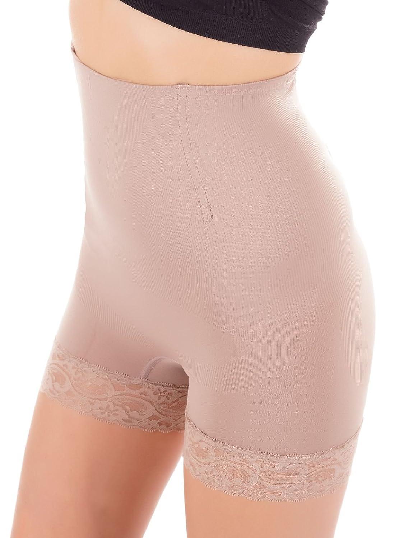 Bixtra Miederhose mit Spitzenbund am Bein, Seamless Shapewear, mehrere Farben und Größen, 5855 online kaufen