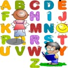 Alphabet Spanish for children