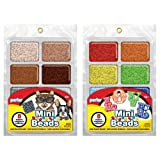 Perler Mini Beads Tray Bundle - Neutral and Rainbow