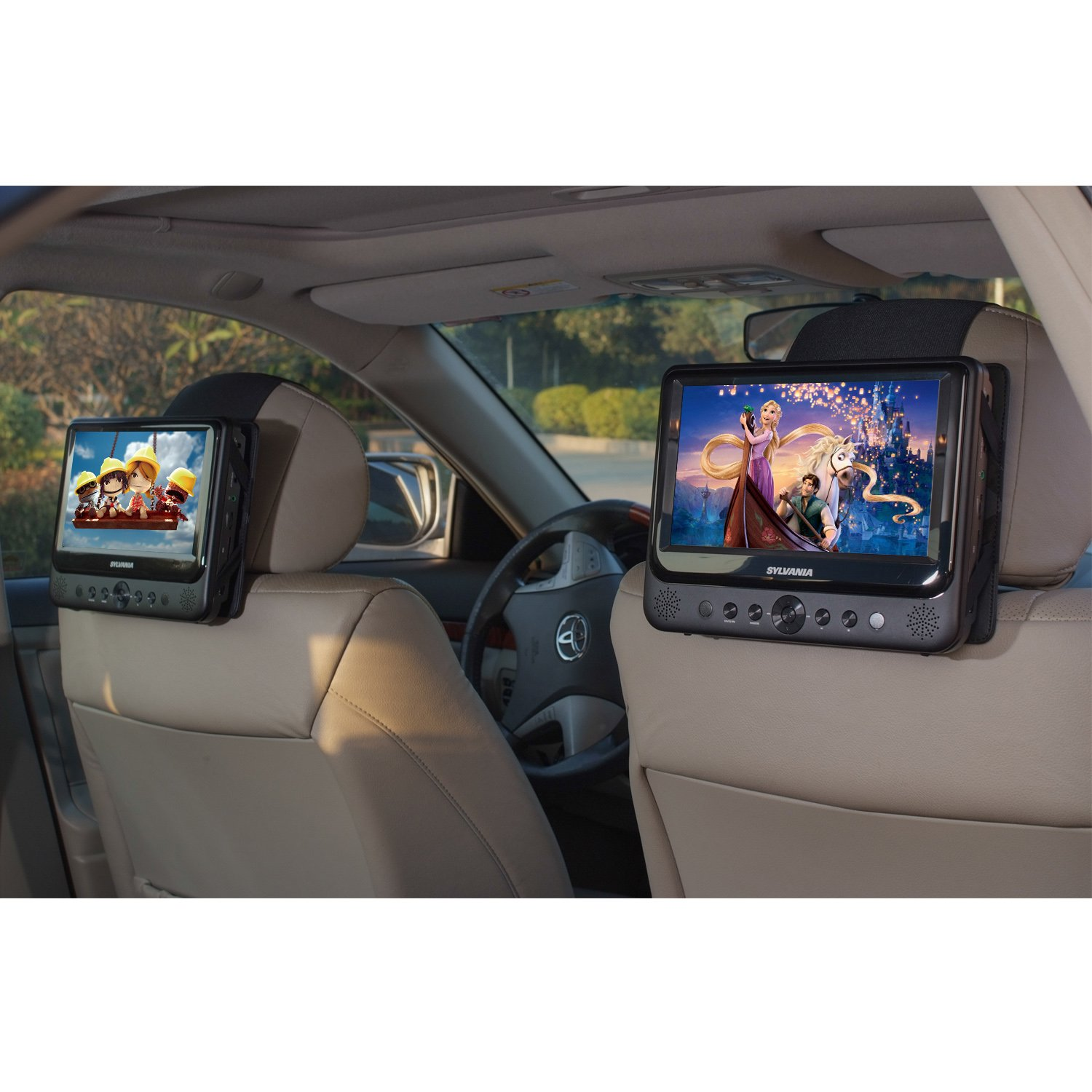 top 10 best portable dvd players for cars reviews 2018. Black Bedroom Furniture Sets. Home Design Ideas