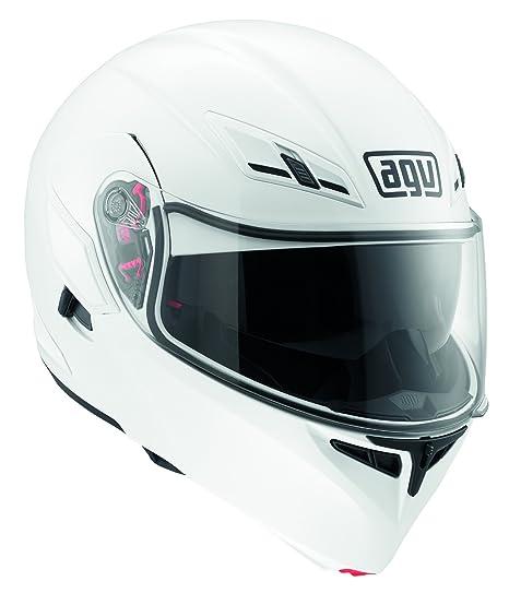 Casque AGV 1021A4E0 compact, Blanc, 58