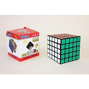 Cubo de velocidad 5x5 Shengshou (Color/Negro)