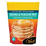 Pamela's Products Gluten Free Baking and Pancake Mix, 4-Pound Bags (Pack of 3) (Tamaño: 4 Pound (Pack of 3))