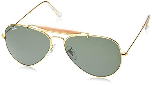 ray ban pilot sunglasses price  Ray-Ban Aviator Sunglasses (Golden) (RB3129 W0226 58 14): Amazon ...