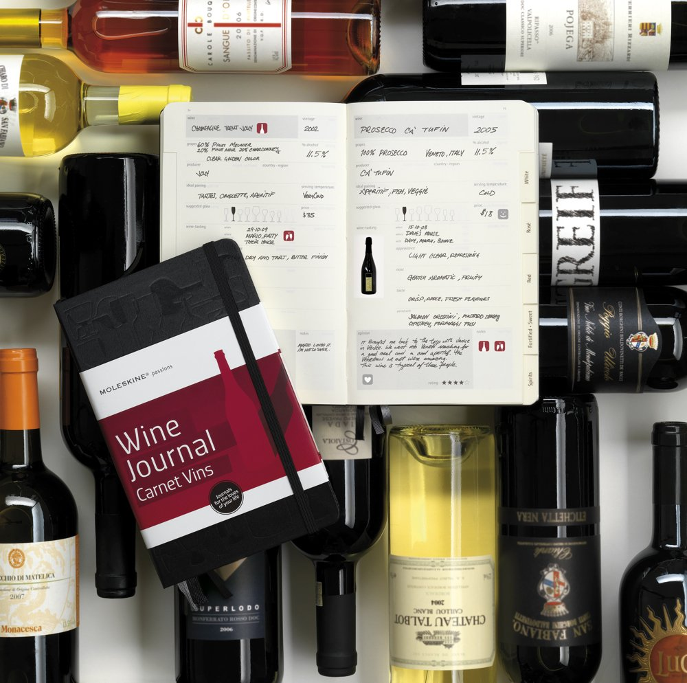 Moleskine Wine Journal | Wine - The Best Way to Stay Warm This Winter: Wines you should try