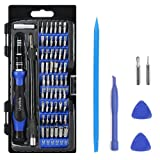 Precision Screwdriver Set with 56 Magnetic Driver Kits,64 in 1 Screwdriver Tool Set with Flexible Shaft,Openers, for Professional Fixing PS4/Computer/Smartphone/Laptops/Xbox/Tablets/Camera/Toy (Color: 64 in 1)