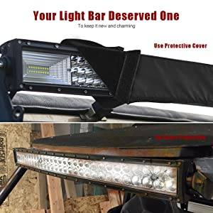 Mictuning 50 universal straight curved led light bar cover windproof mictuning 50 universal straight curved led light bar cover water resistant aloadofball Choice Image