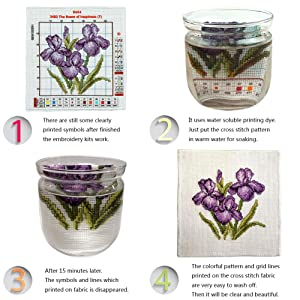 Cross Stitch Stamped Kit Quilt Pre-Printed Cross-Stitching Patterns for Beginner Kids & Adults, Embroidery Crafts Needlepoint Starter Kits The Art of Hummingbirds (Color: Stamped 25.6x25 inch, Tamaño: 15.8x15.8 inch)