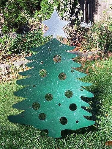 Christmas Trees Yard Stakes Christmas Wikii