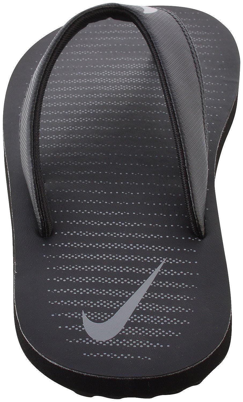 black flip flop slippers