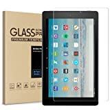 All-New Fire HD 10 Screen Protector,Easyworld Tempered Glass Screen Protector Film for All-New Fire HD 10 Tablet with 10.1