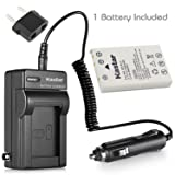 Kastar Battery 1-Pack + Charger Kit for Nikon EN-EL5, Nikon MH-61 work with Nikon Coolpix 3700, 4200, 5200, 5900, 7900, P3, P4, P80, P90, P100, P500, P510, P520, P530, P5000, P5100, P6000, S10 Cameras (Tamaño: 1 battery + 1 charger)