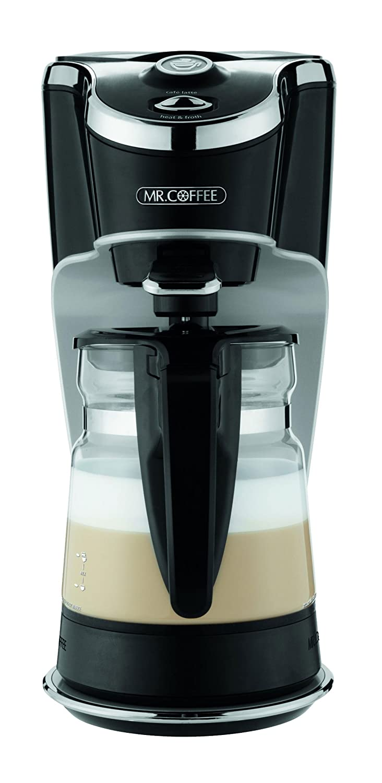 mr coffee latte maker machine cappuccino cafe hot chocolate serve w 20 recipe 072179231905 ebay. Black Bedroom Furniture Sets. Home Design Ideas