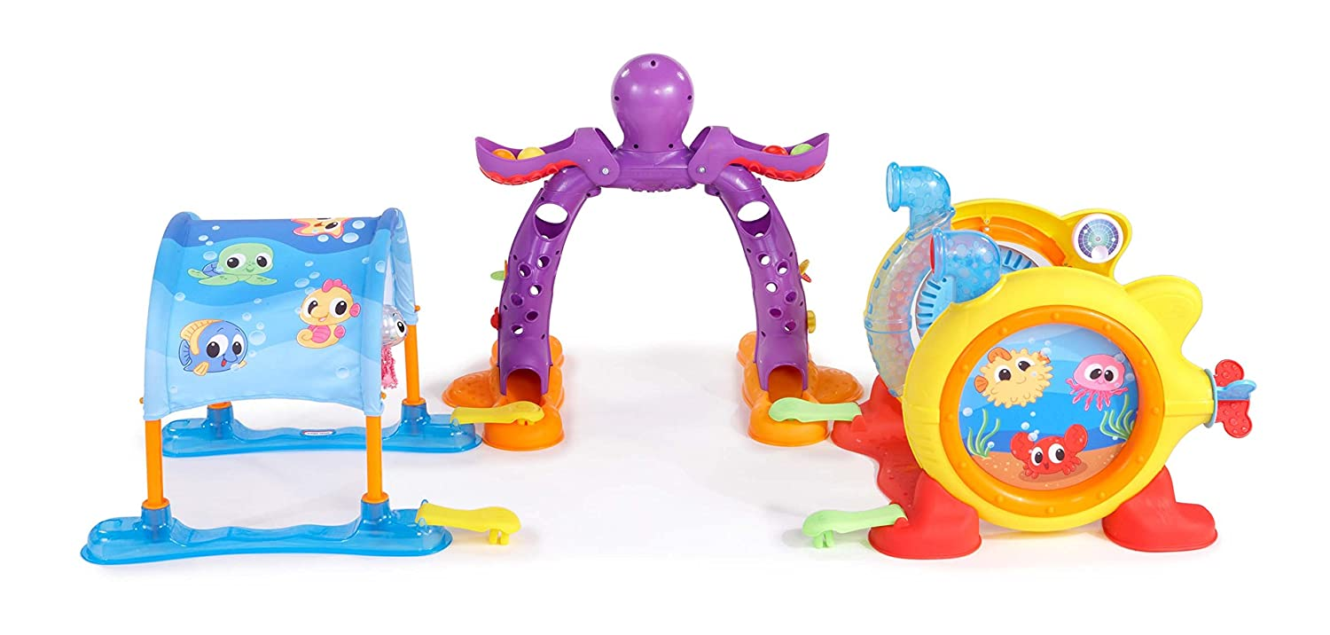 An Image of Little Tikes Lil' Ocean Explorers 3-in-1 Adventure Course
