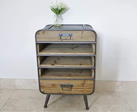 INDUSTRIAL CABINET- PULL OUT SLIDING SHELVES & DRAWERS