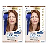 Clairol Nice 'n Easy Root Touch-Up 6R Kit (Pack of 2), Matches Light Auburn/ Reddish Brown Shades of Hair Color, Superior Grey Coverage (Color: 6R Light Auburn/Reddish Brown, Tamaño: Pack of 2)