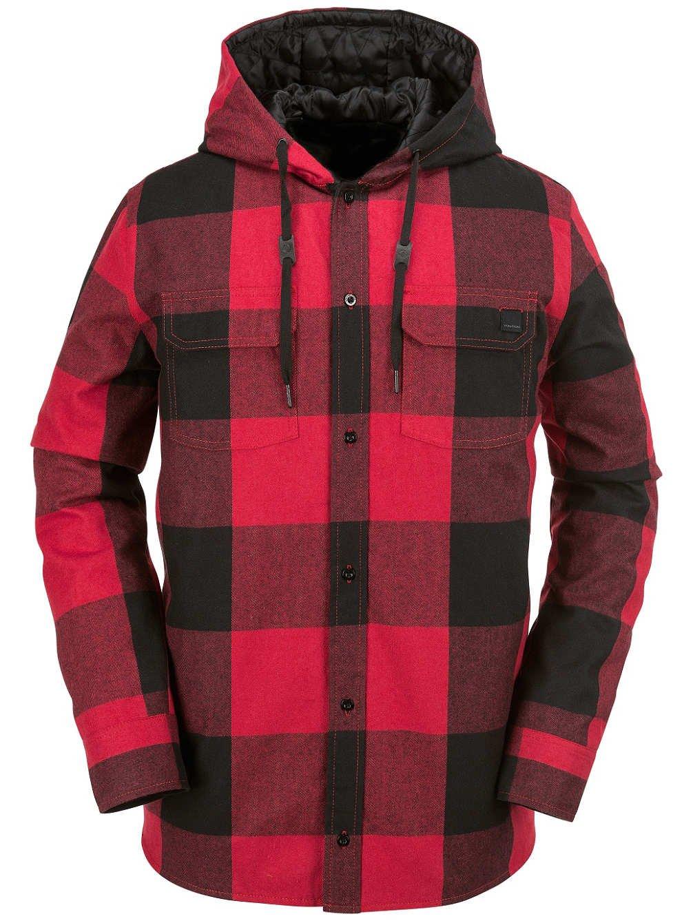 Herren Snowboard Jacke Volcom Burl Ins Flannel Jacket