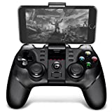 Smart Electricer PG - 9077 Bluetooth Wireless Gamepad Handle (Color: Black, Tamaño: 6.3 x 3.94 x 1.18 inches)