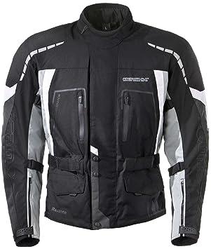 GERMOT rAVENNA veste en textile-noir/gris
