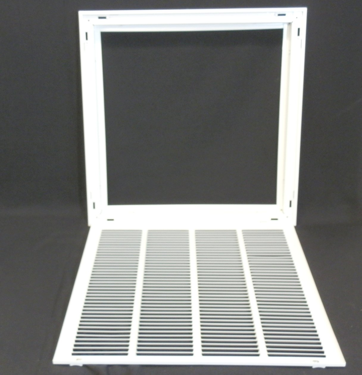 #636C5F 20w X 20h RETURN FILTER GRILLE HVAC Dcut Cover Flat  Most Effective 4515 Hvac Return Air Grilles pictures with 1216x1260 px on helpvideos.info - Air Conditioners, Air Coolers and more