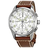Victorinox Men's 241598 AirBoss Analog Display Swiss Automatic Brown Watch (Color: white)