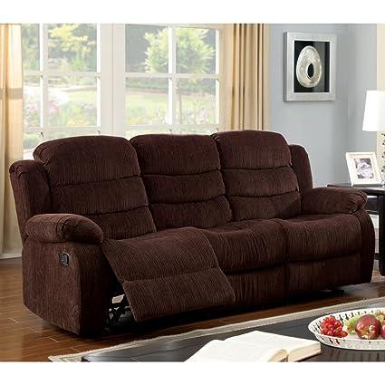 Furniture of America Bristow Recliner Sofa