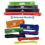 Garage Fit Pull up Assist Bands - Heavy Duty Resistance Bands, Mobility Bands for Cross Training, Exercise Resistance for Gymnastics (Bundle #1 Red #2 Black #3 Purple #4 Green) (Color: Bundle #1 Red #2 Black #3 Purple #4 Green)