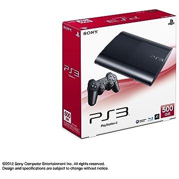 PlayStation 3 チャコールブラック 500GB (CECH-4000C) パッケージ写真 from Amazon.co.jp