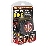 ONTEL MK-MC12/4 Measure King 3-in-1 Digital Tape Measure String Mode, Sonic Mode & Roller Mode As seen On Tv (Tamaño: 1-(Pack))