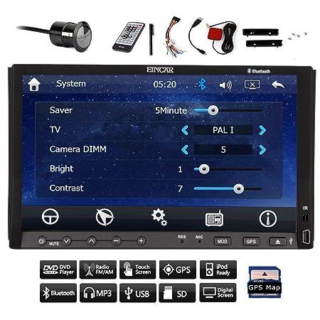 Cš¢mara MP3 libre de 7 pulgadas Automotriz doble 2 din capacitiva HD Muilt tocar RDS d'šŠcran de navegaciš®n del GPS DVD del coche de FM / AM Lecteur VidšŠo Bluetooth FM RDS AM HD Radio En el tablero 2Din