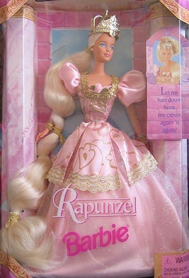 1997 Barbie *Rapunzel* #17646 Poupée Doll Blonde