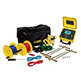 AEMC 4620 4-Point Ground Resistance Tester Kit, 2000 Ohms Resistance, 10mA Current with 300' Leads (Tamaño: Tester with 300' Leads)