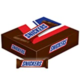 SNICKERS Singles Size Chocolate Candy Bars 1.86-Ounce Bar 48-Count Box (Tamaño: 1.86 Ounce (48 Count))