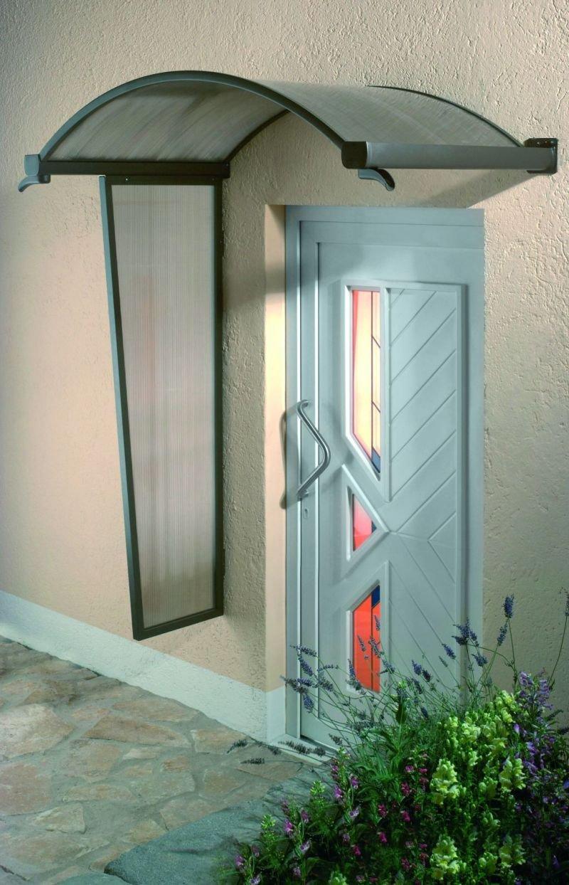 Dusar Vordach Exklusiv Ovalbogenvordach braun NEU! 160 x 90 x 30  BaumarktKundenbewertung und Beschreibung