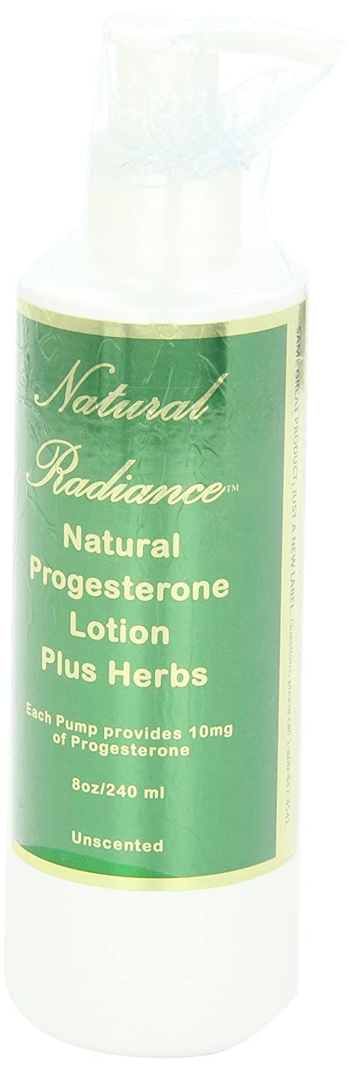 Natural Radiance Natural Progesterone Bio-Identical Pump Bottle Plus Herbs