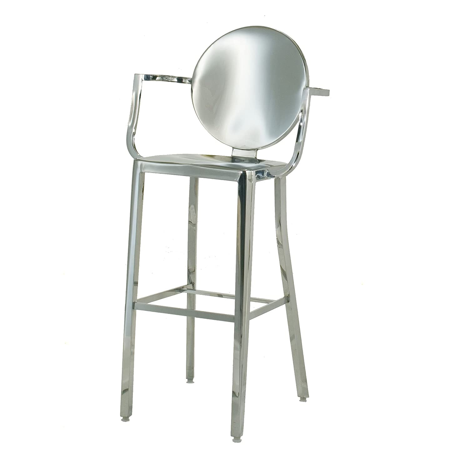 Stainless Steel Bar Stools With Backs Stainless Steel Bar