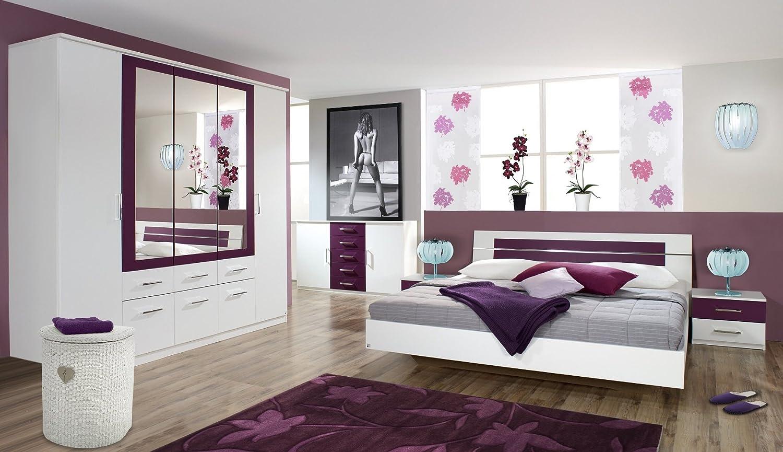Fesselnde Wandfarbe Brombeere Sammlung Von With Pin Und Lila Schlafzimmer Mit Französisch