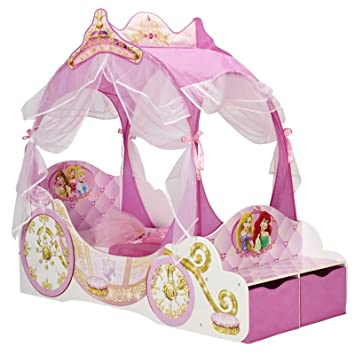 Disney Princess transport Toddler Bed + matelas mousse Standard