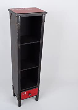 regal 3 f cher vintage container industrial design mdf us21. Black Bedroom Furniture Sets. Home Design Ideas
