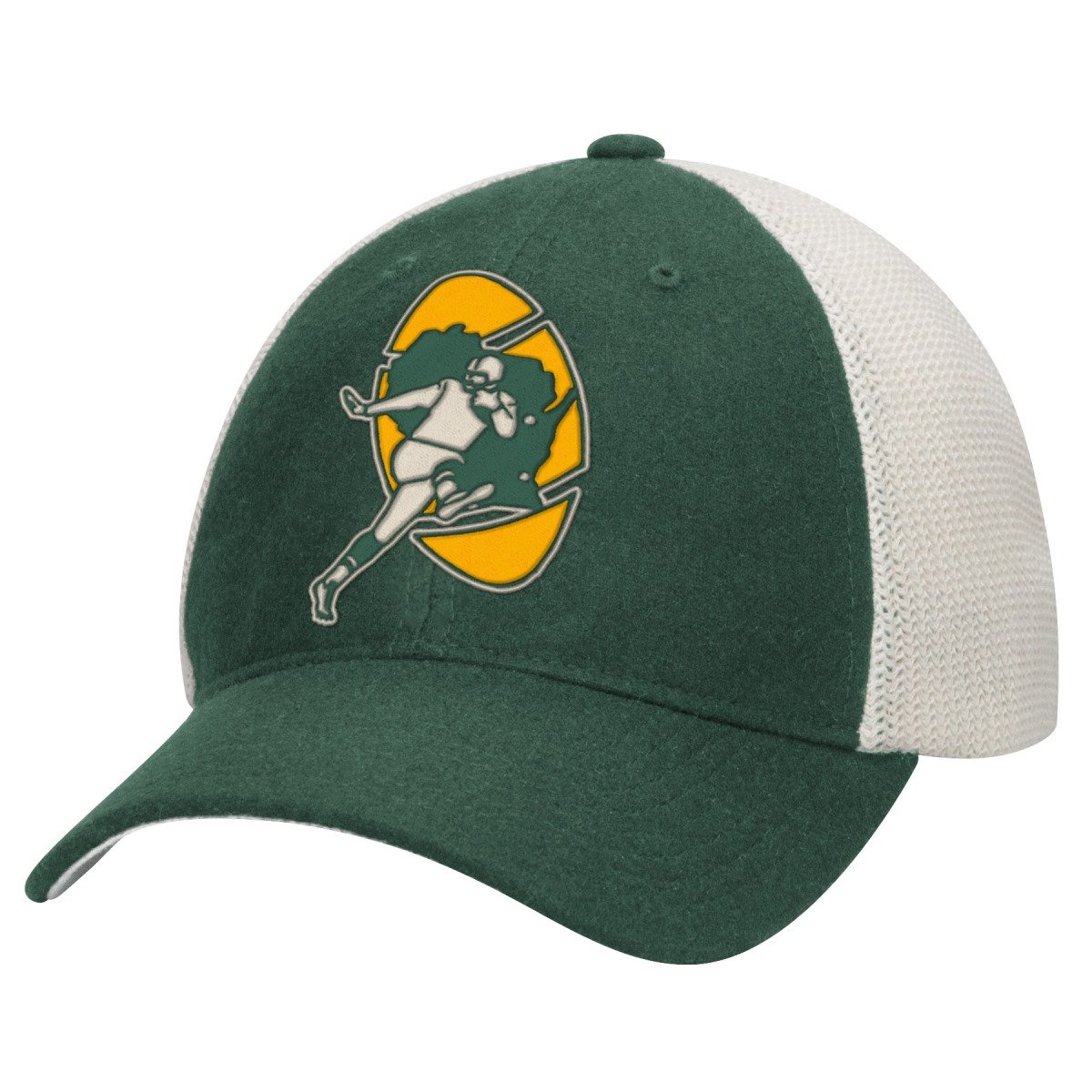 Green Bay Packers Mitchell & Ness NFL Mesh Back Slouch Adjustable Hat брюки mitchell