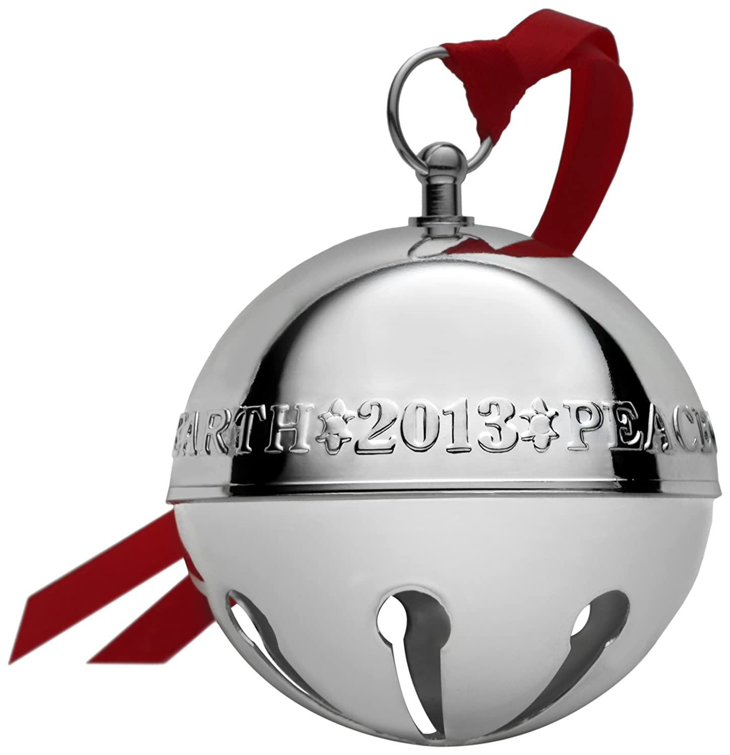 Wallace 2013 43rd Edition Silver-Plated Sleigh Bell Ornament