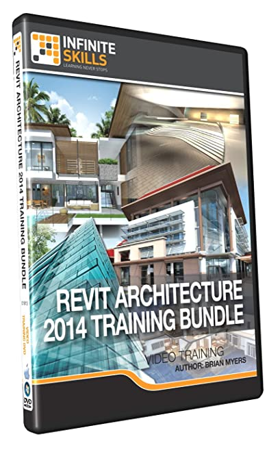 Learning Revit Architecture 2014 Bundle - Training DVD Book Cover
