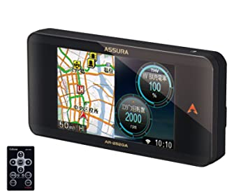 【クリックで詳細表示】Amazon | セルスター(CELLSTAR) ASSURA 無線LAN搭載 3.2インチ液晶搭載 GPS一体型レーダー探知機 日本生産モデル AR-252GA | レーダー探知機