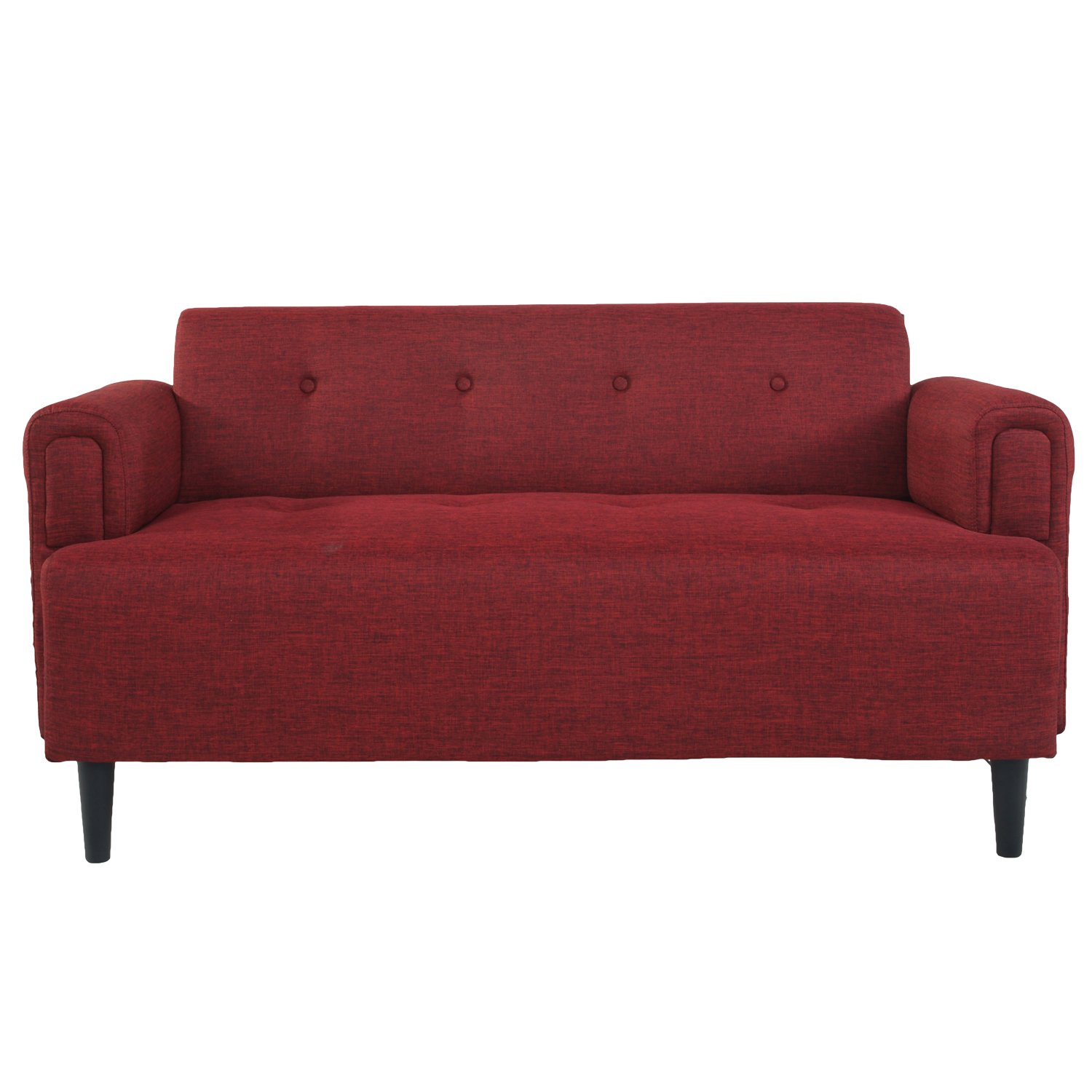 Joveco Extra Comfy Fabric Designed Sofa -two seats
