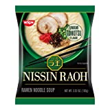 Nissin Raoh, Tonkotsu, 3.53 Ounce (Pack of 6) (Tamaño: 3.53 Ounce (Pack of 6))