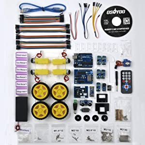 OSOYOO Robot Smart Car for Arduino DIY Learning Kit with tutorial