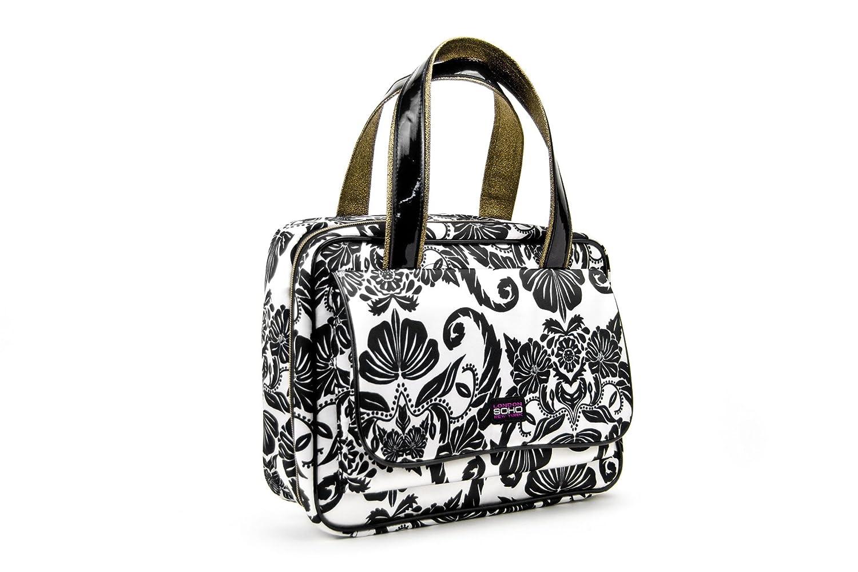 SOHO-Royal-Tea-Deluxe-Front-Pocket-Weekender-Cosmetic-Bag