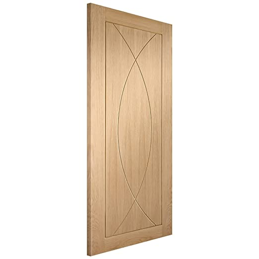 XL Joinery Internal Un-Finished Oak Pesaro Door 1981x533x35mm (78''x21'')